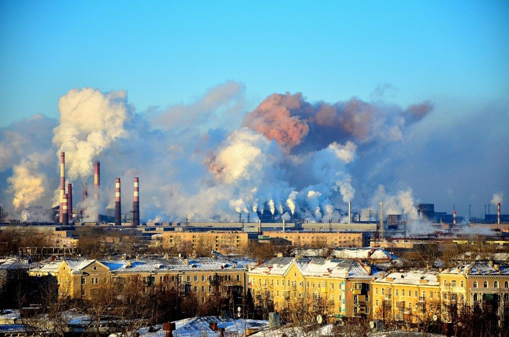 Названы города РФ с самым загрязненным воздухом