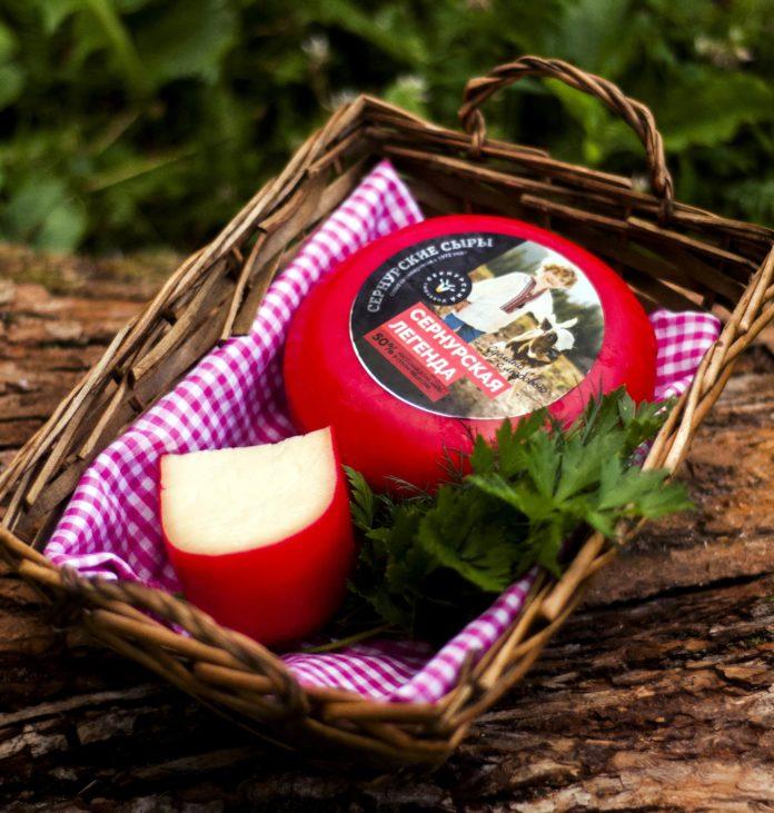 Сыр «Сернурская легенда» стал новым брендом Марий Эл