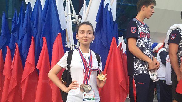 Взявшая интервью у Путина школьница завоевала пять медалей на Спартакиаде