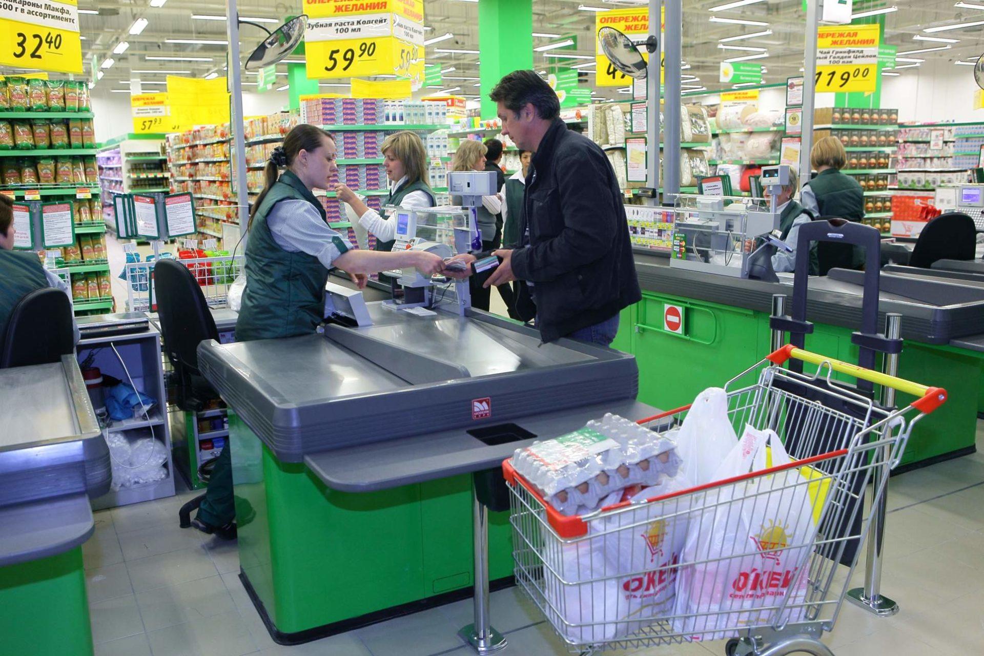 Денис Мантуров исключил риск дефицита продуктов в российских магазинах