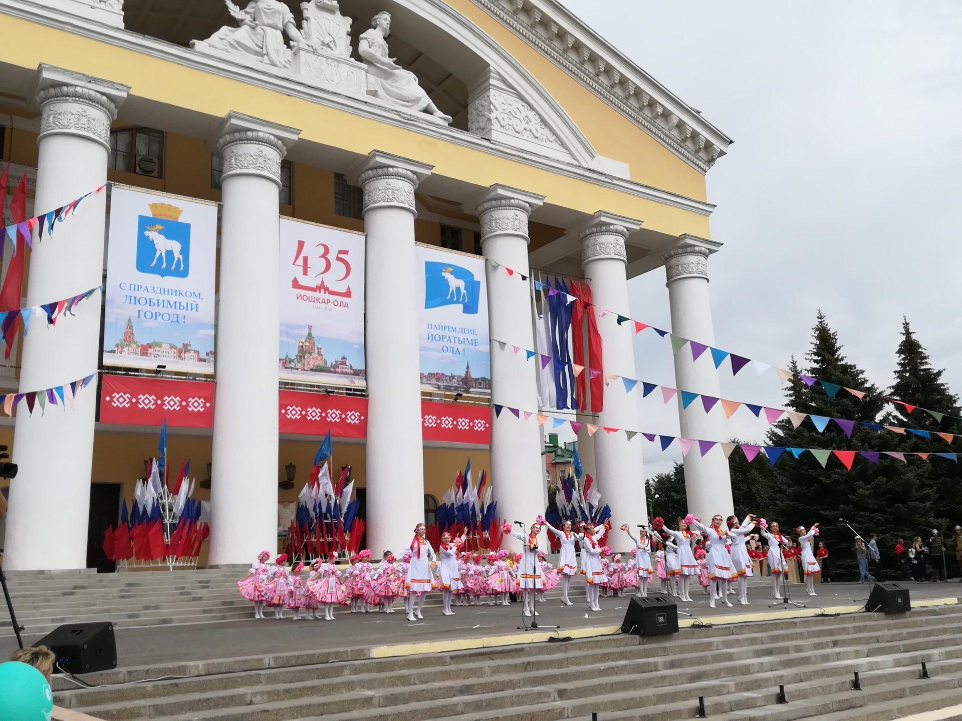 Коронавирусные ограничения стали причиной переноса празднования Дня города Йошкар-Олы