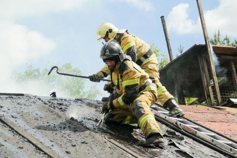 Дачный дом пострадал от пожара в Марий Эл