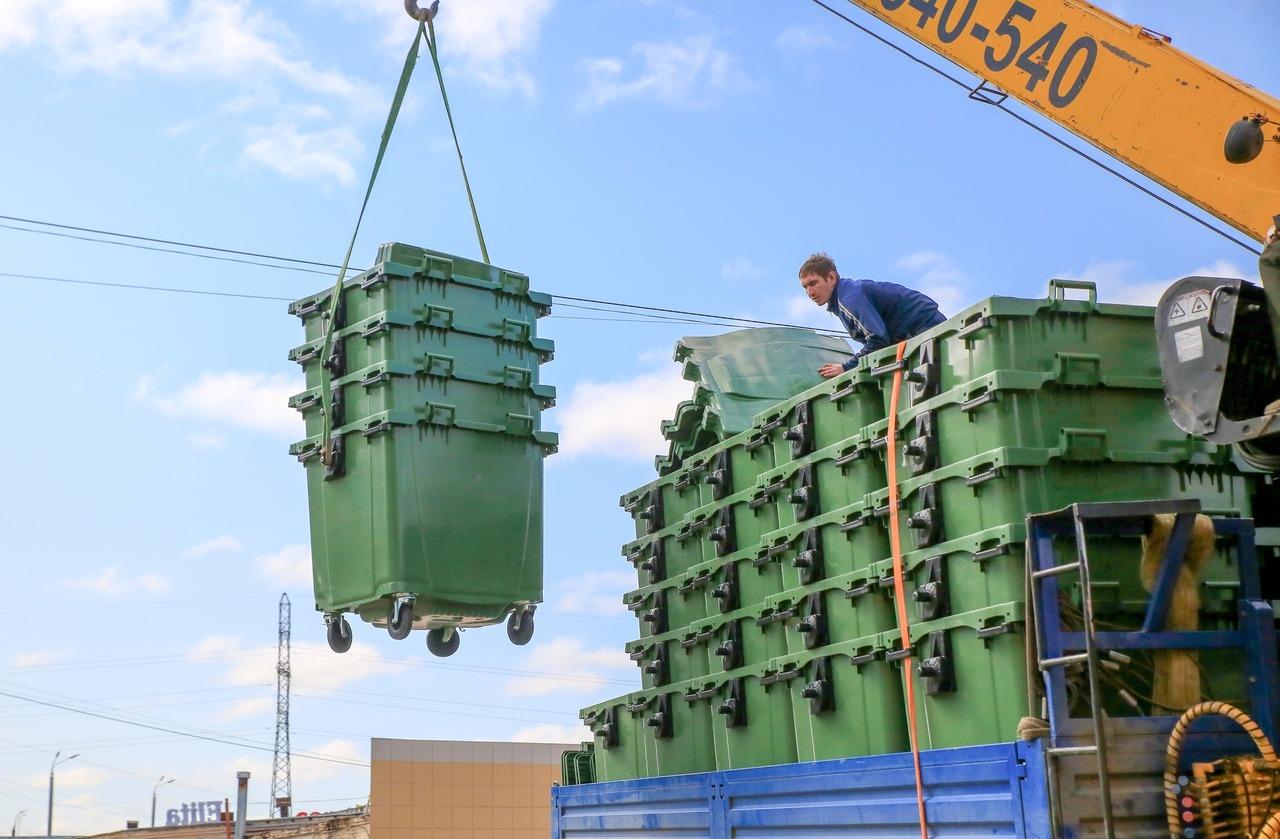 Марий Эл получит деньги на закупку контейнеров для раздельного сбора отходов