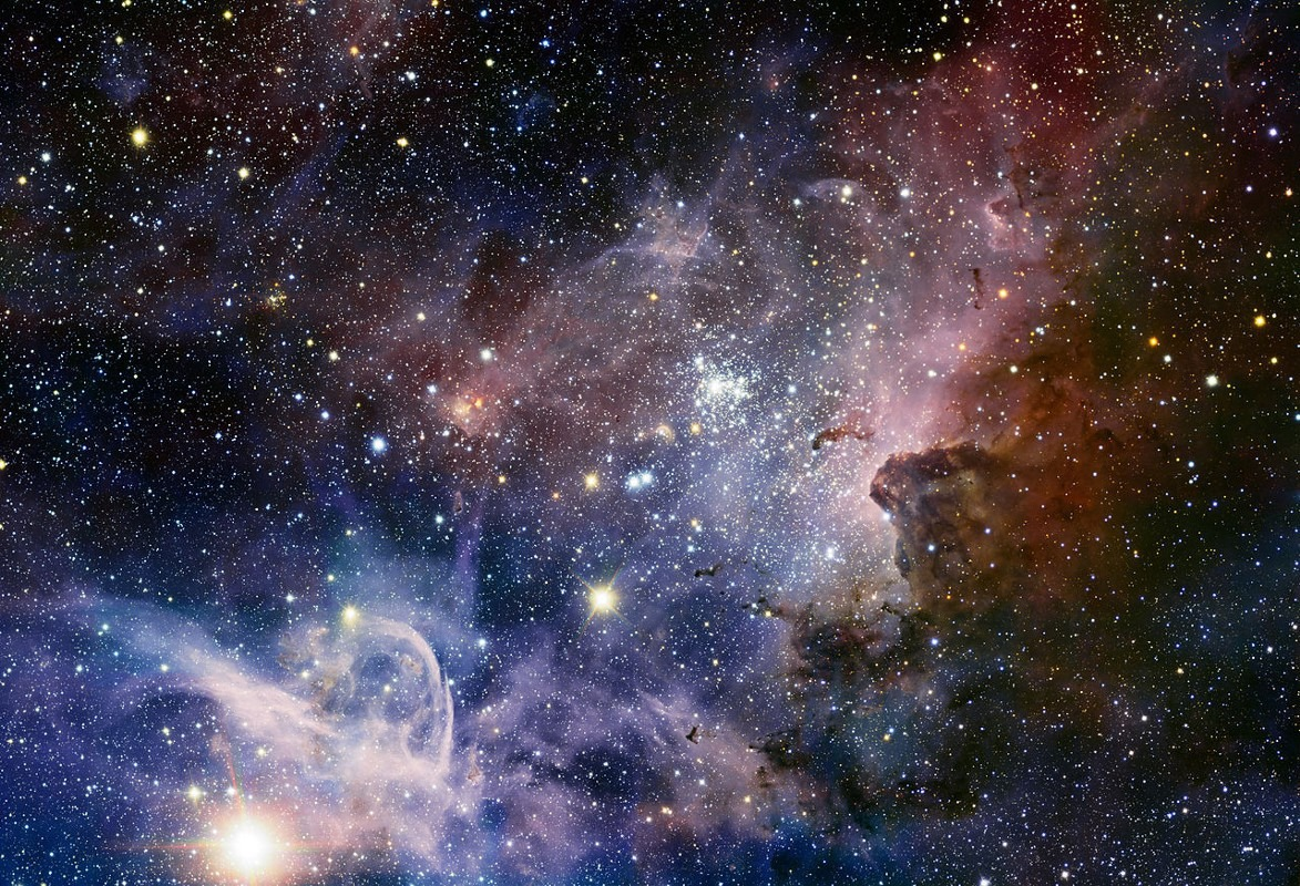 Надутый сверхновыми пузырь позволил сформироваться молекулярным облакам