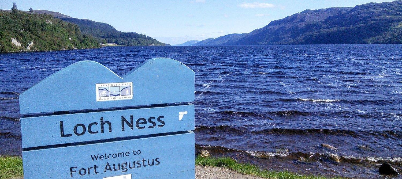 Очевидцы опять заметили монстра, который якобы обитает в озере Лох-Несс