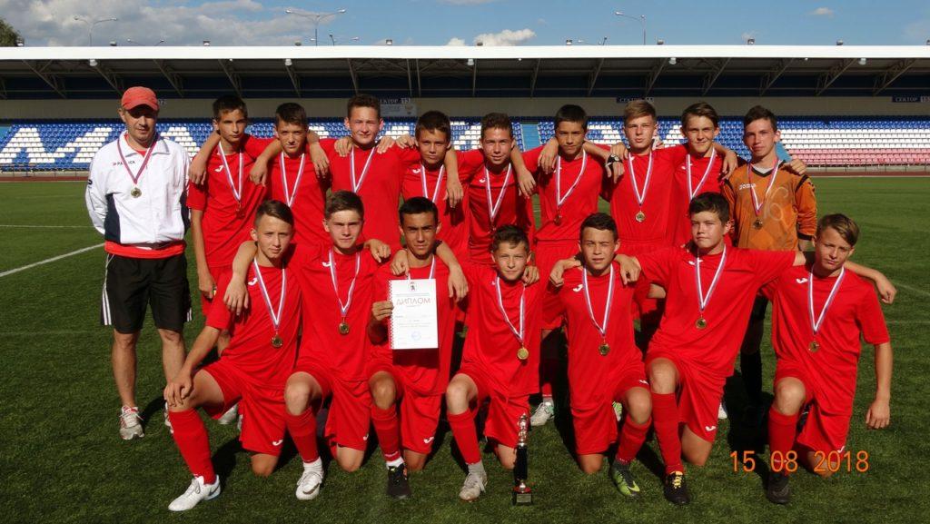 Футболисты из Марий Эл стали победителями этапа Первенства России
