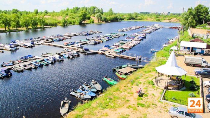 Лодочной станцией торгуют в Волжске