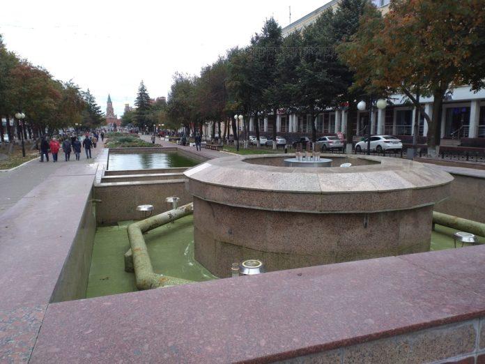 1 октября выключат на зиму фонтаны в Йошкар-Оле