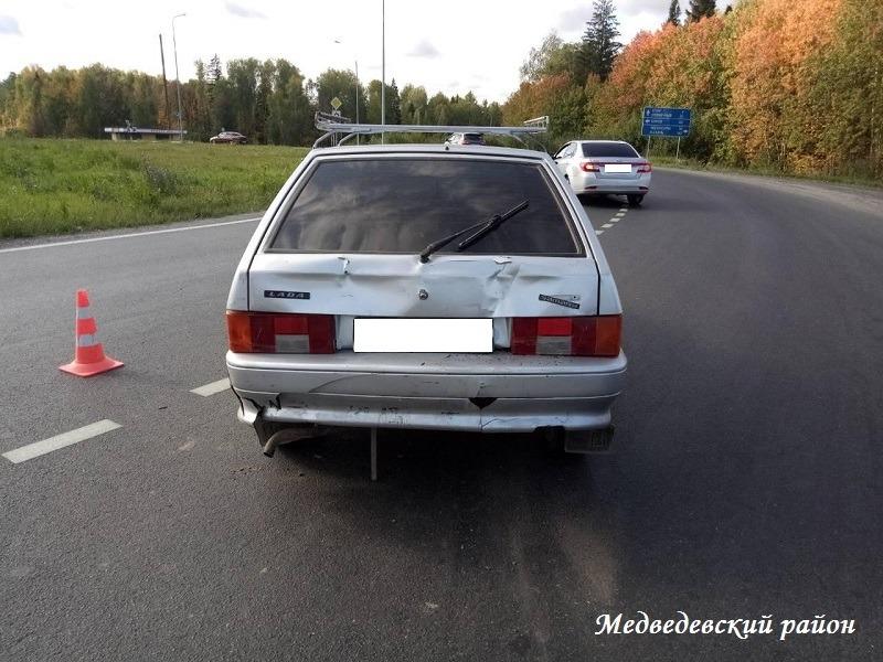 Водитель иномарки спровоцировал ДТП с пострадавшими в Йошкар-Оле