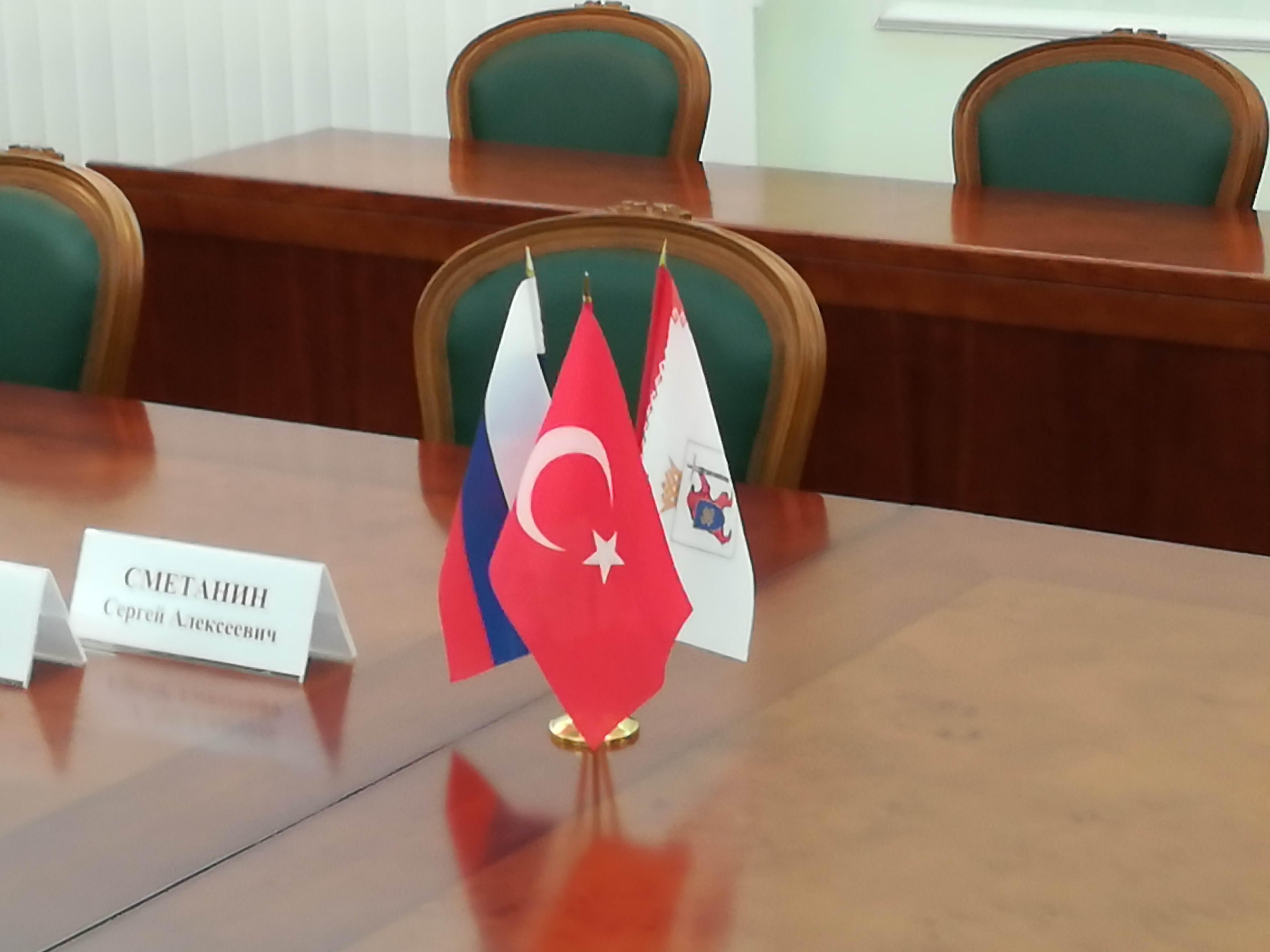 Глава Марий Эл провёл встречу с Генеральным консулом Турции в Казани