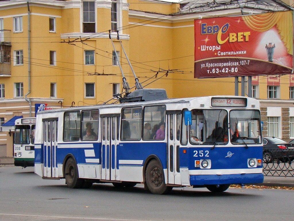 В Йошкар-Оле изменили расписание движения троллейбусов