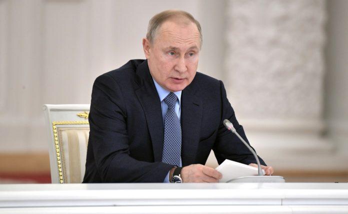 Путин поздравил жителей Марий Эл с наступающим Новым годом
