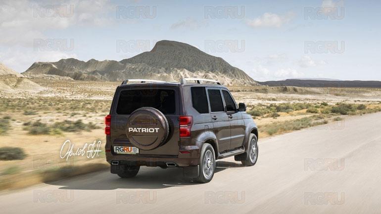 В США восхищены новой версией внедорожника УАЗ «Патриот»