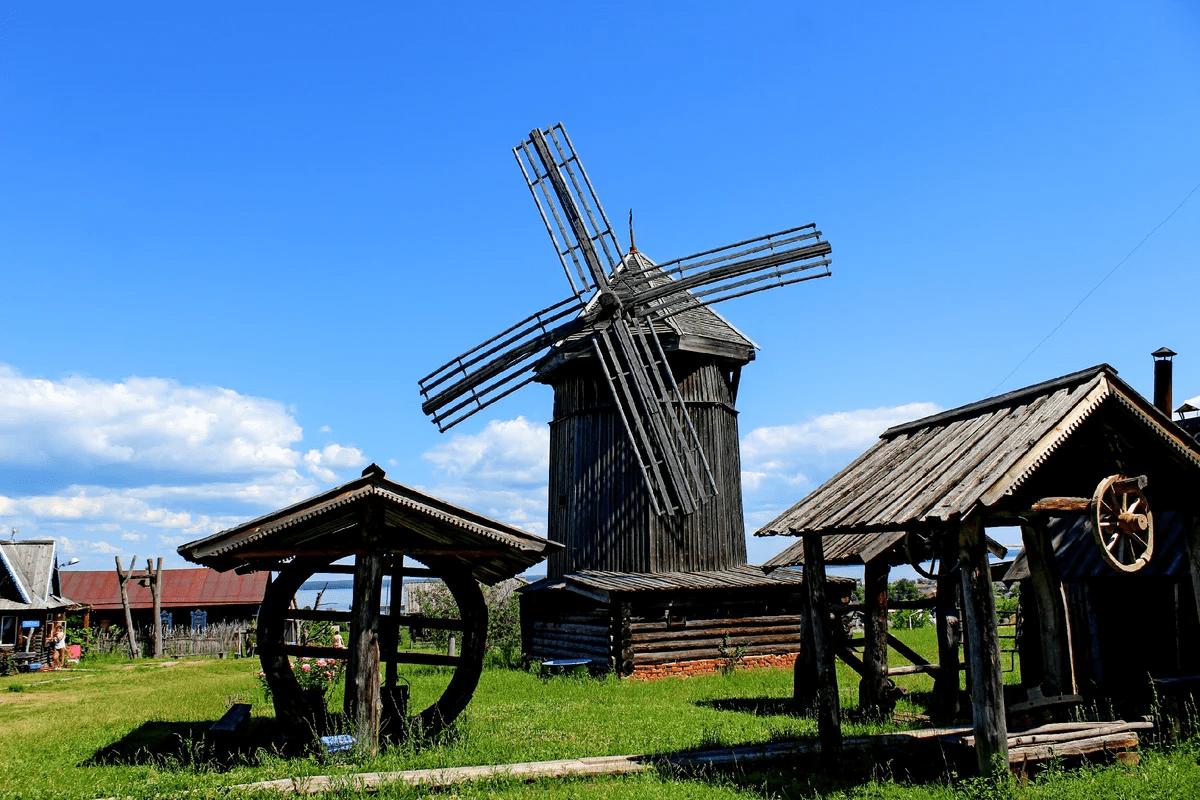 Сухой фонтан заработал в городе Козьмодемьянске