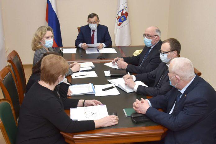 Александр Евстифеев принял участие в совещании полномочного представителя Президента РФ в ПФО