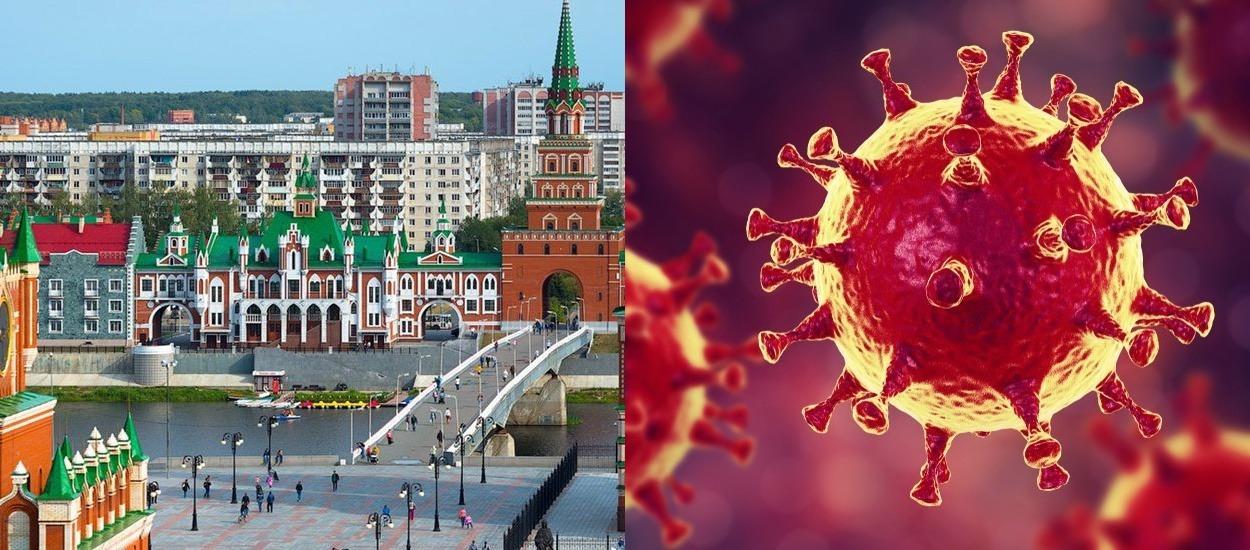 Обновлена карта распространения коронавируса в Марий Эл