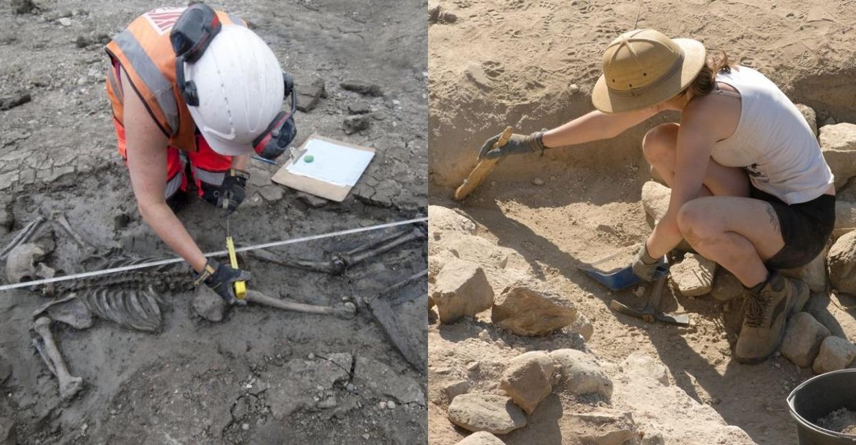 Польские археологи нашли пещерное захоронение девочки с головами зябликов во рту
