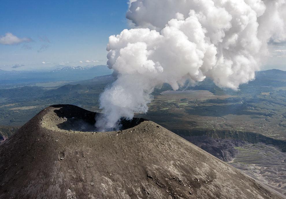 Извержения вулканов привели к резкому глобальному потеплению на планете 55 млн лет назад