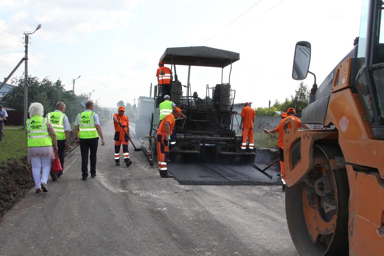Определены подрядчики, которые отремонтируют дороги в Йошкар-Оле в 2022 году