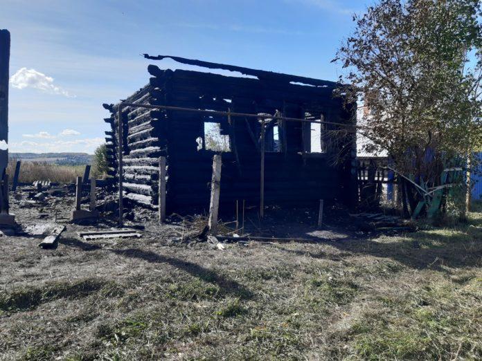 В Волжском районе Республике Марий Эл от огня погиб 49-летний мужчина