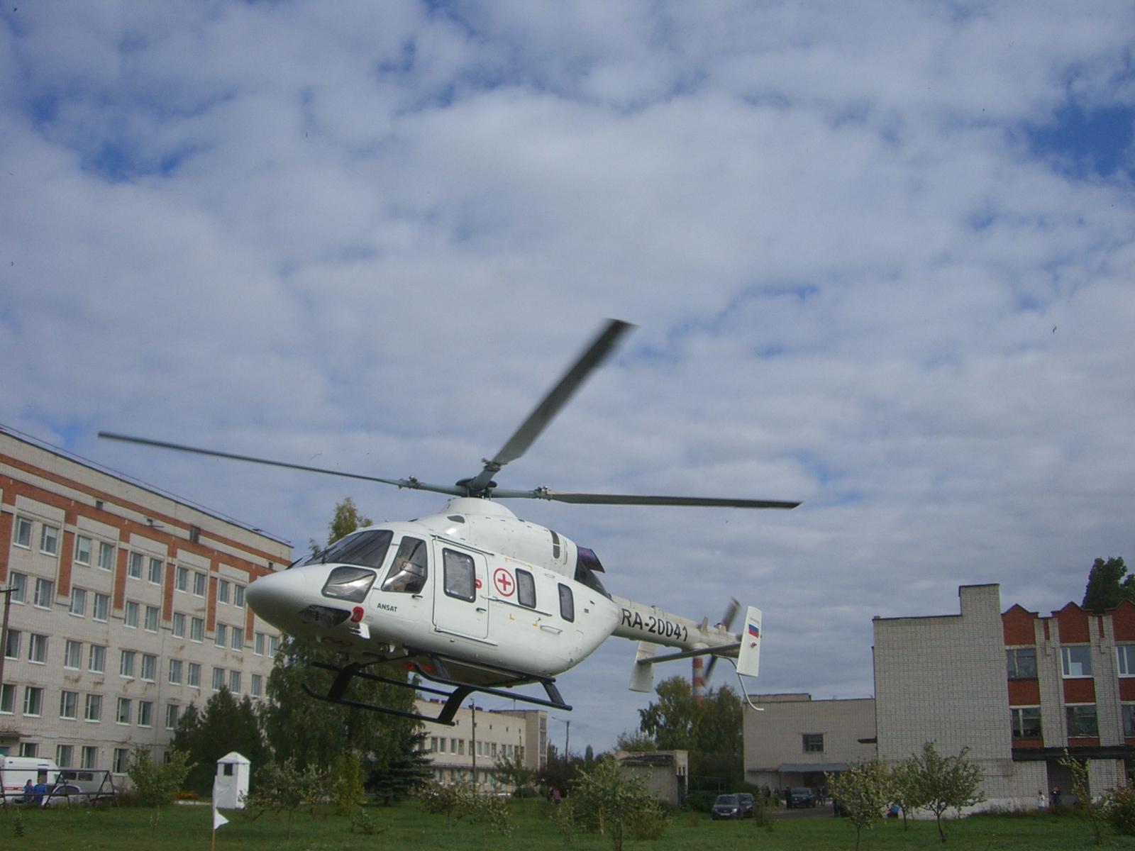 В Марий Эл благодаря санитарной авиации удалось спасти 16 пациентов