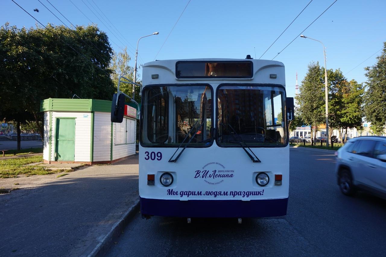 Десять новых троллейбусов закупят в Йошкар-Оле