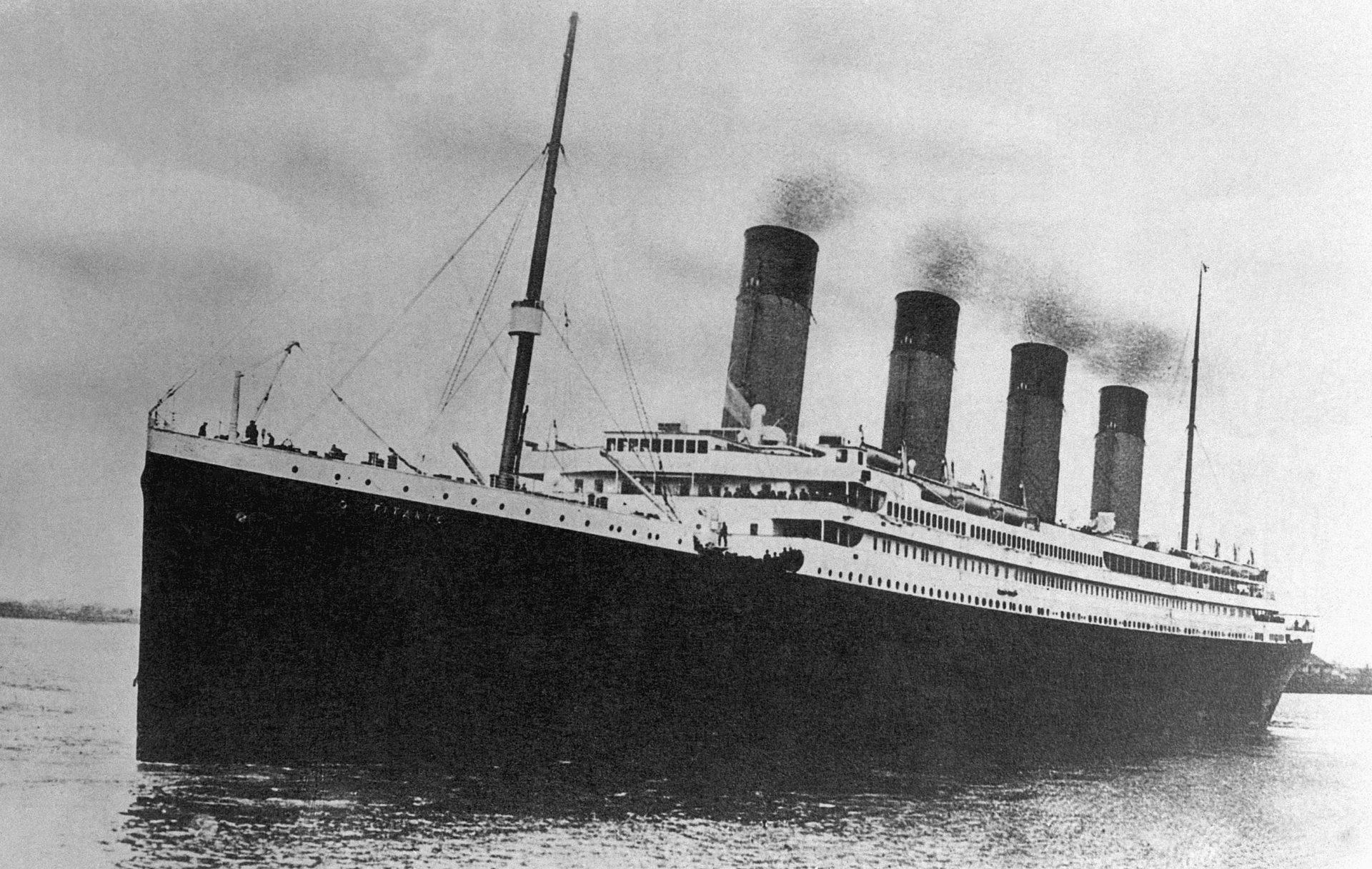 Глубоководный аппарат «Титан» получил новые фотографии с места крушения «Титаника»