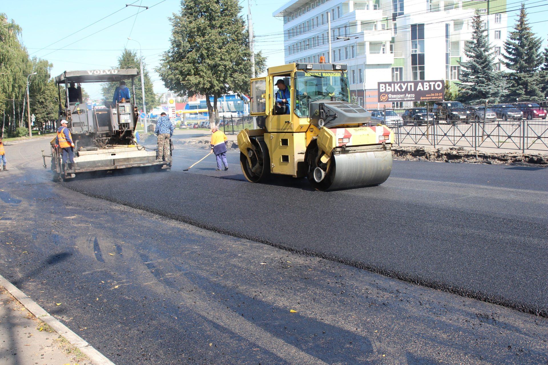 100 млн. рублей выделено дополнительно Республике Марий Эл на ремонт дорог в столице