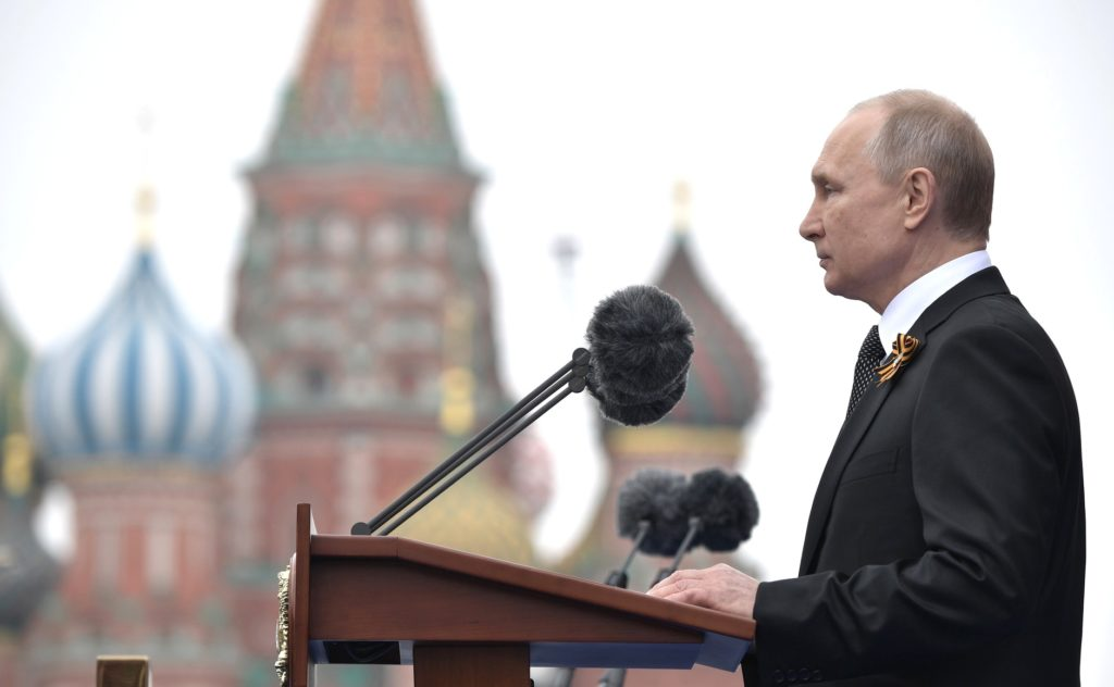 Россия масштабно отмечает год юбилея Великой Победы