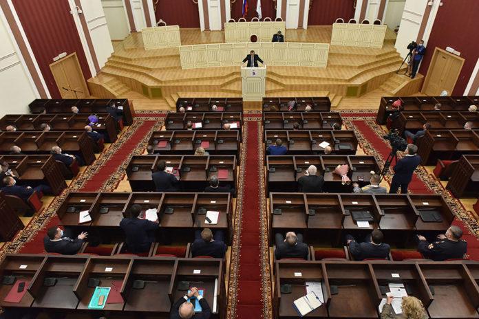 Глава Марий Эл представил отчет о результатах деятельности правительства республики