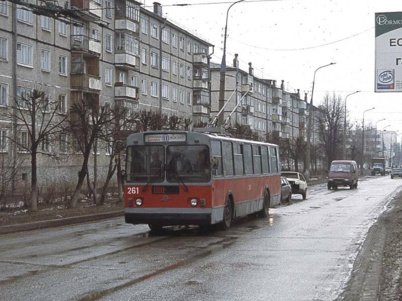 50 лет троллейбусу Йошкар-Олы: история маршрута №11