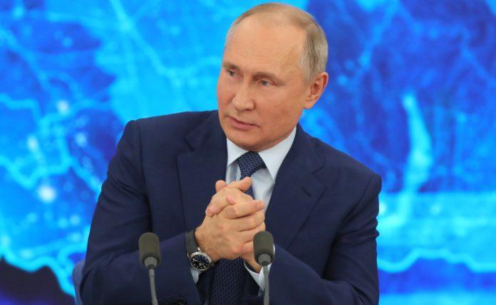 Путин назвал свой главный новогодний тост
