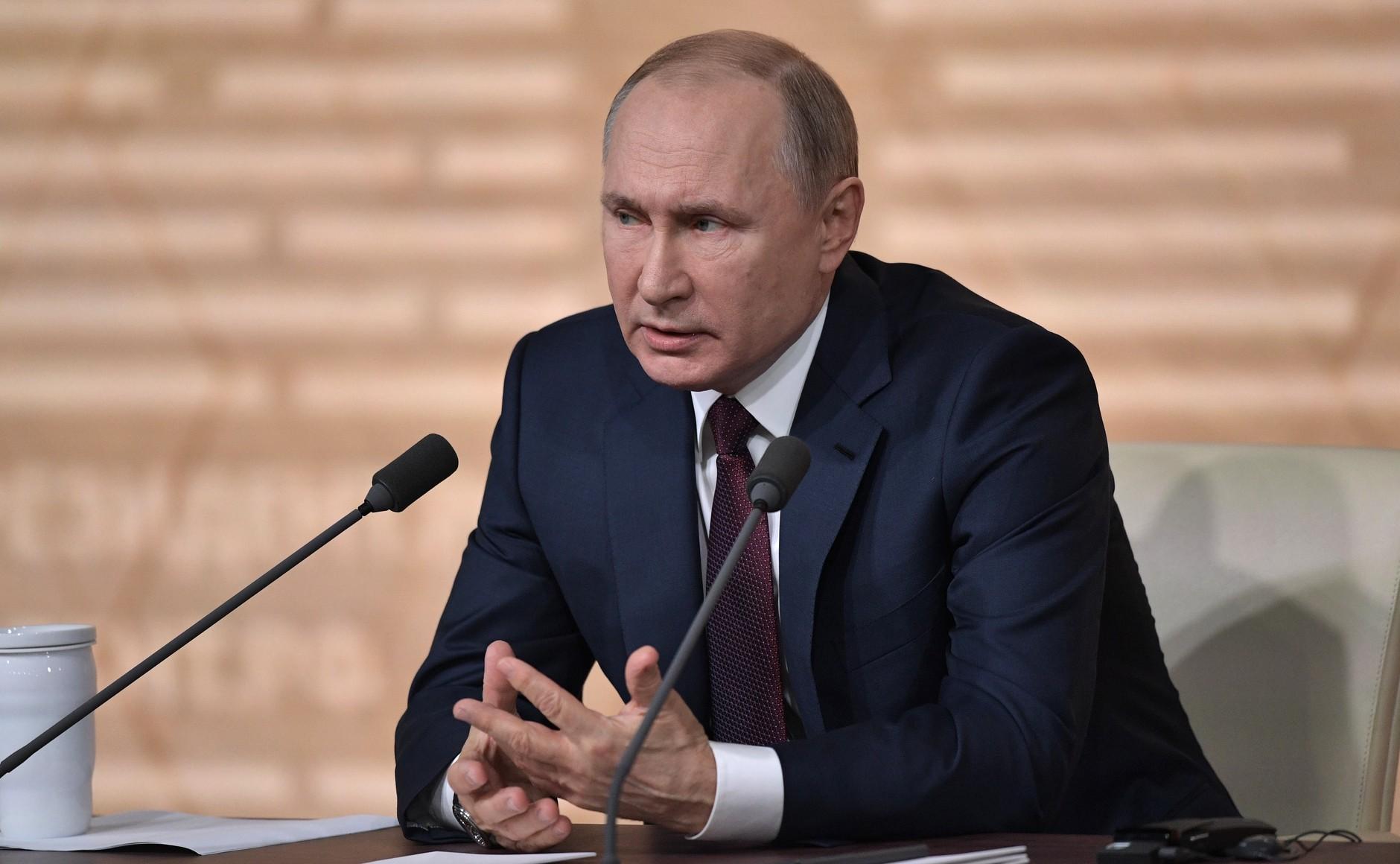 Президент Путин подтвердил временную нестабильность в российской экономике