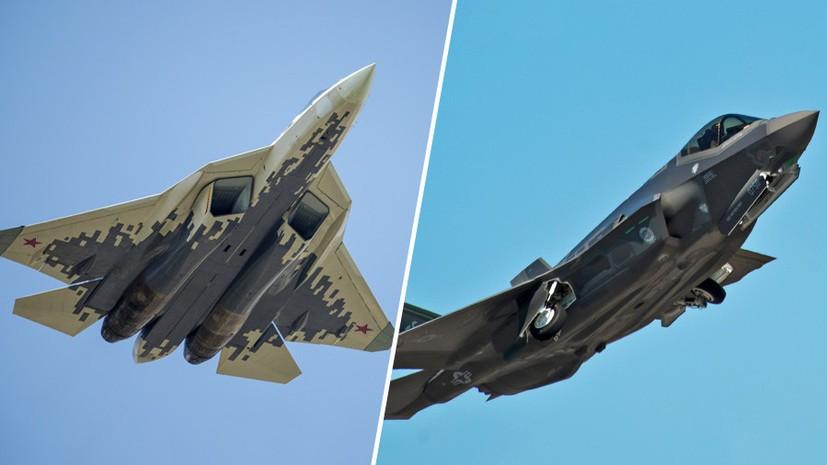 Су-57 в бою с F-35 один на один выйдет победителем