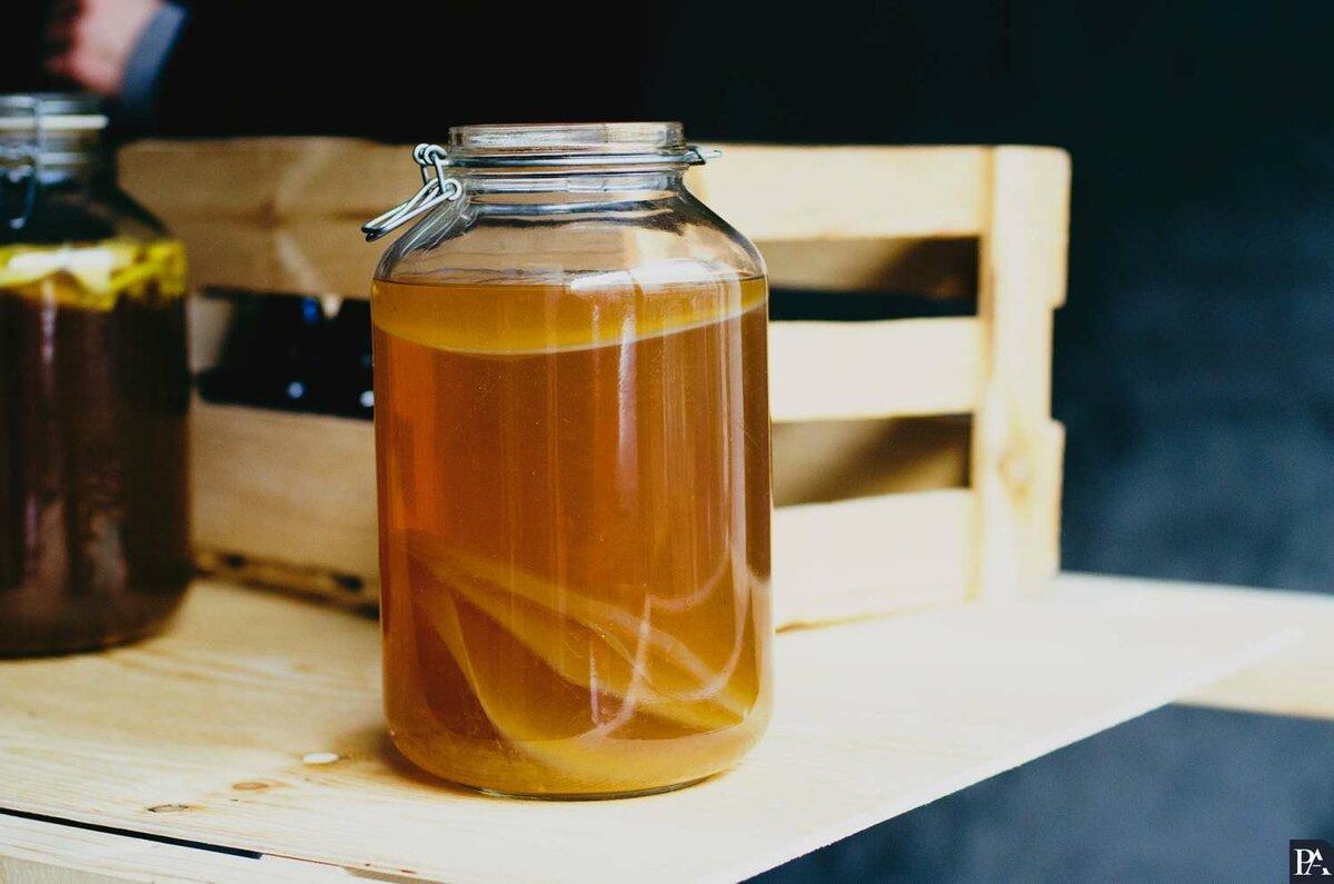 Семь новых биоматериалов нашли в ядре чайного гриба