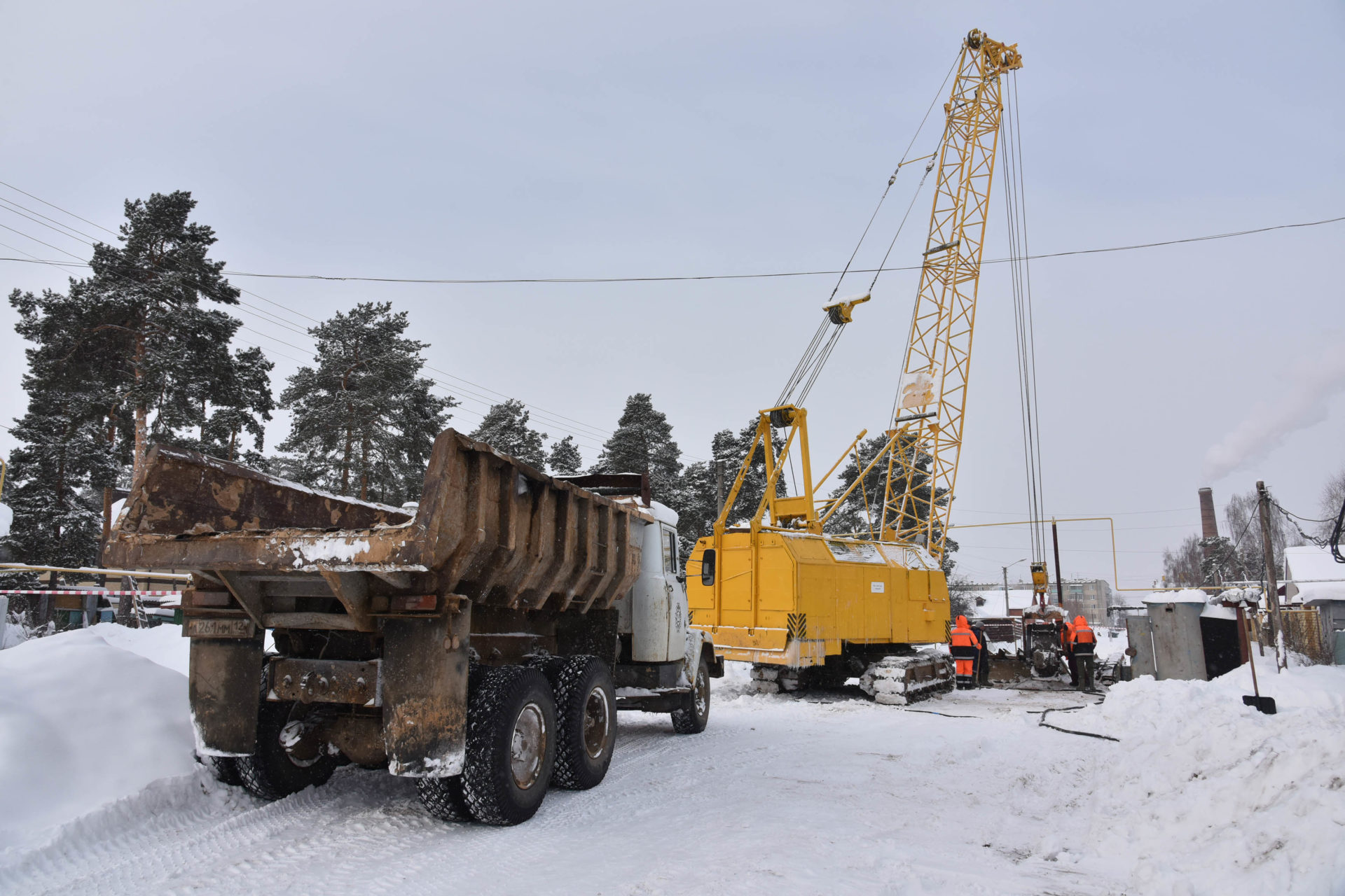 На ремонт канализационного коллектора в Звенигове выделят еще 7 млн рублей
