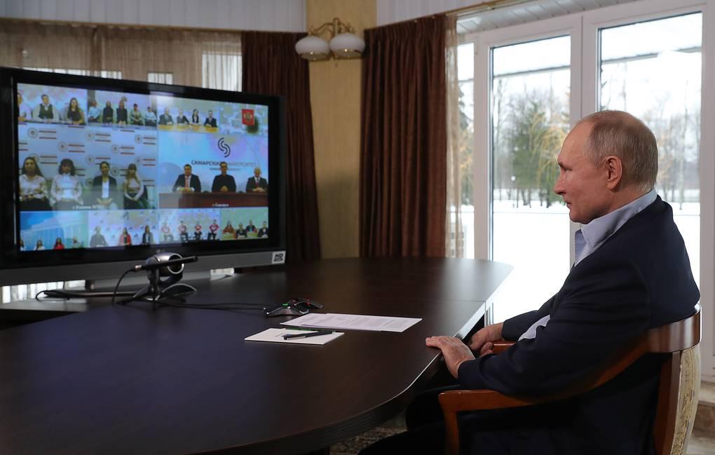 Президент России заявил о пользе системы ЕГЭ для абитуриентов из регионов