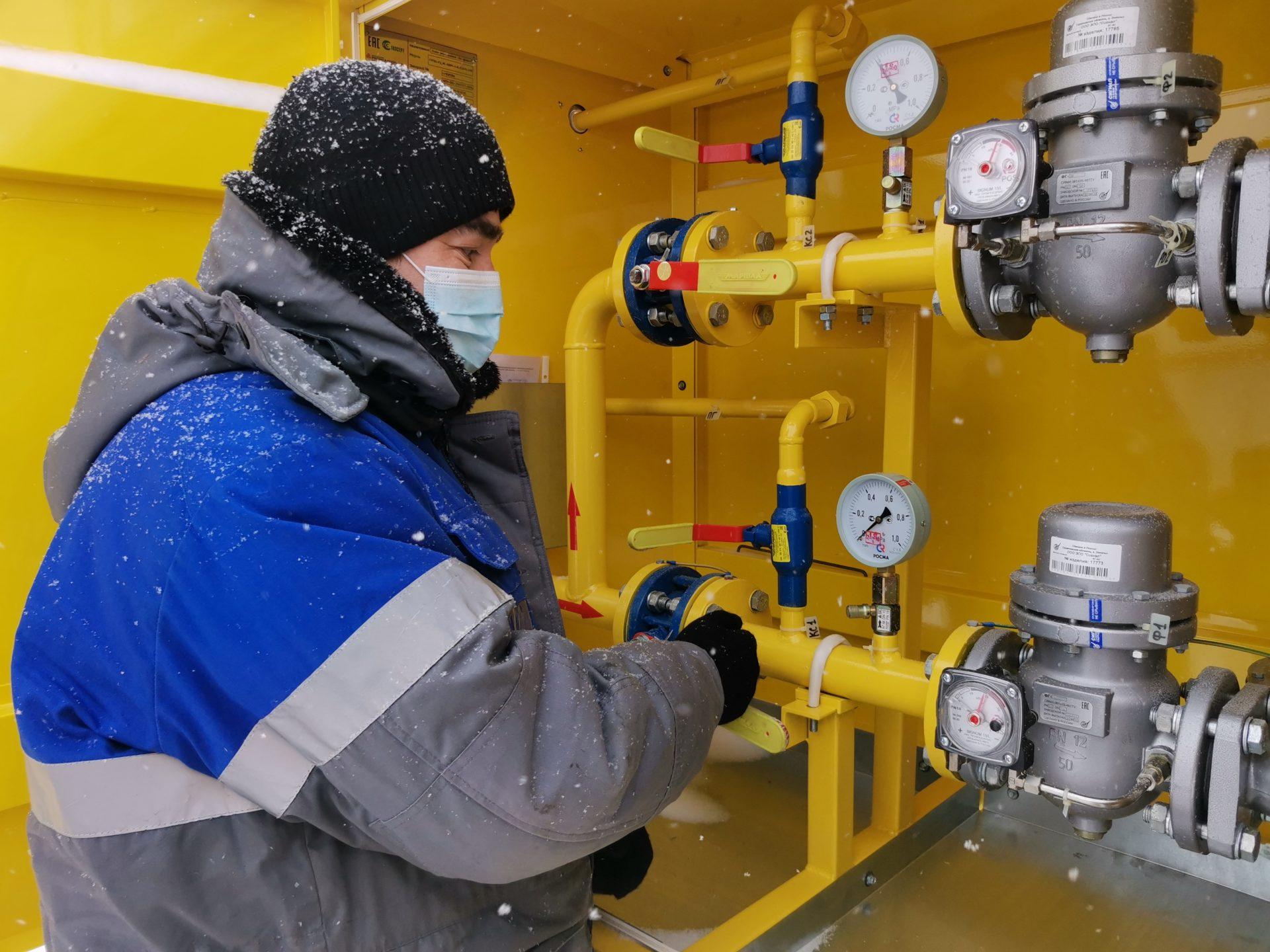 В морозные дни система газораспределения Марий Эл работала в штатном режиме