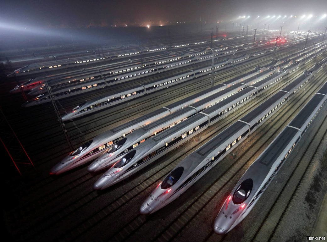 В Китае представлен прототип высокоскоростного поезда на магнитной подушке
