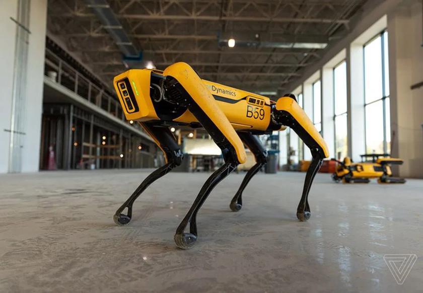 Сбербанк купил робота-пса Spot компании Boston Dynamics