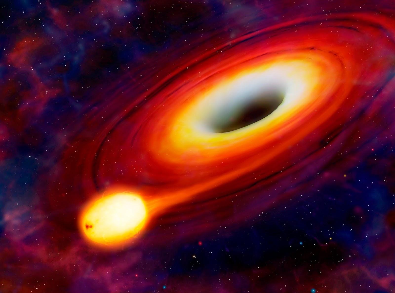 Открыта галактика с растущей черной дырой в 13 млрд световых лет