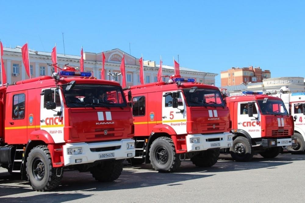 Три человека погибли на пожарах в Марий Эл за прошлую неделю