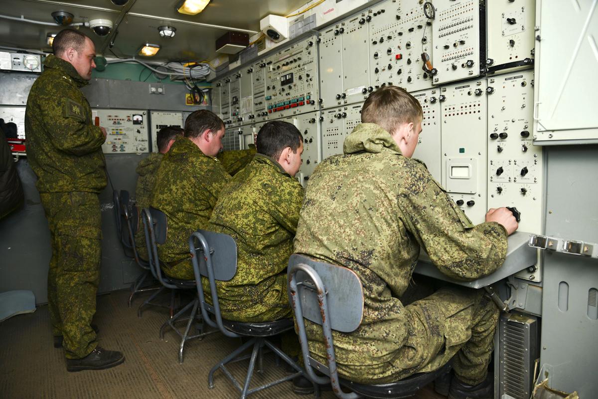 Военные ВС РФ впервые провели сетецентрические учения