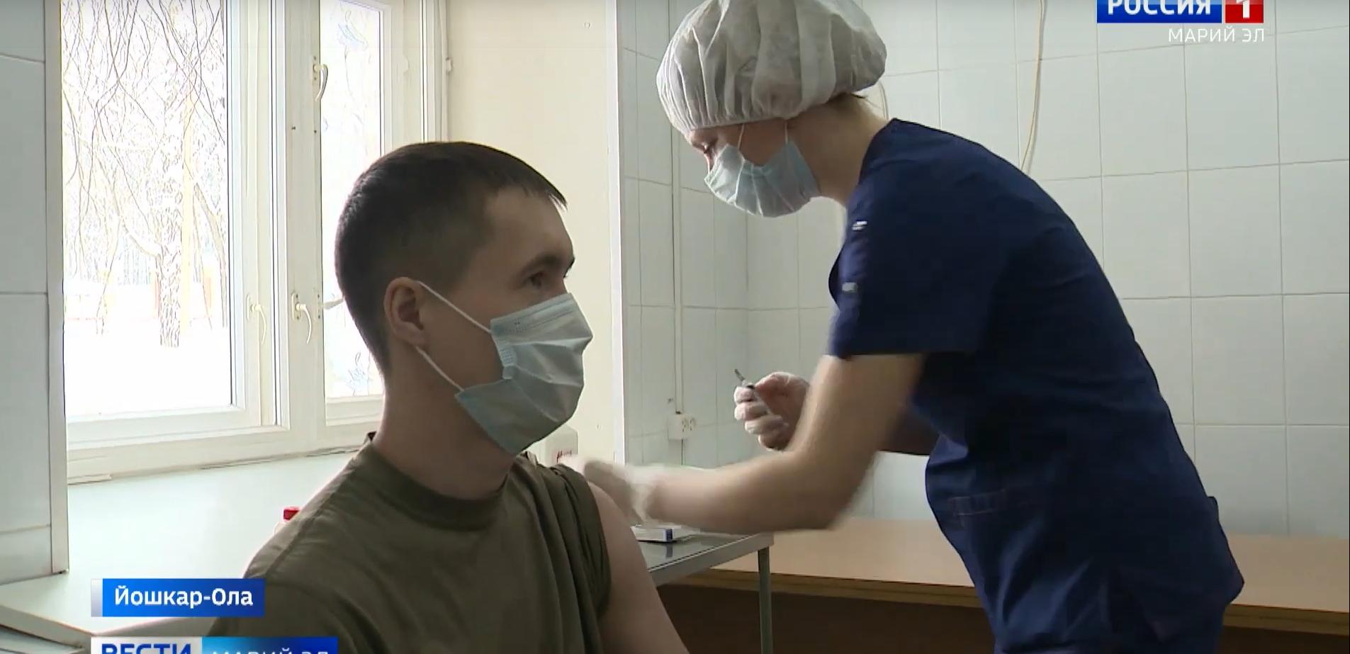 На 2 июля в Марий Эл вакцинировали 26,5% от запланированного количества жителей республики