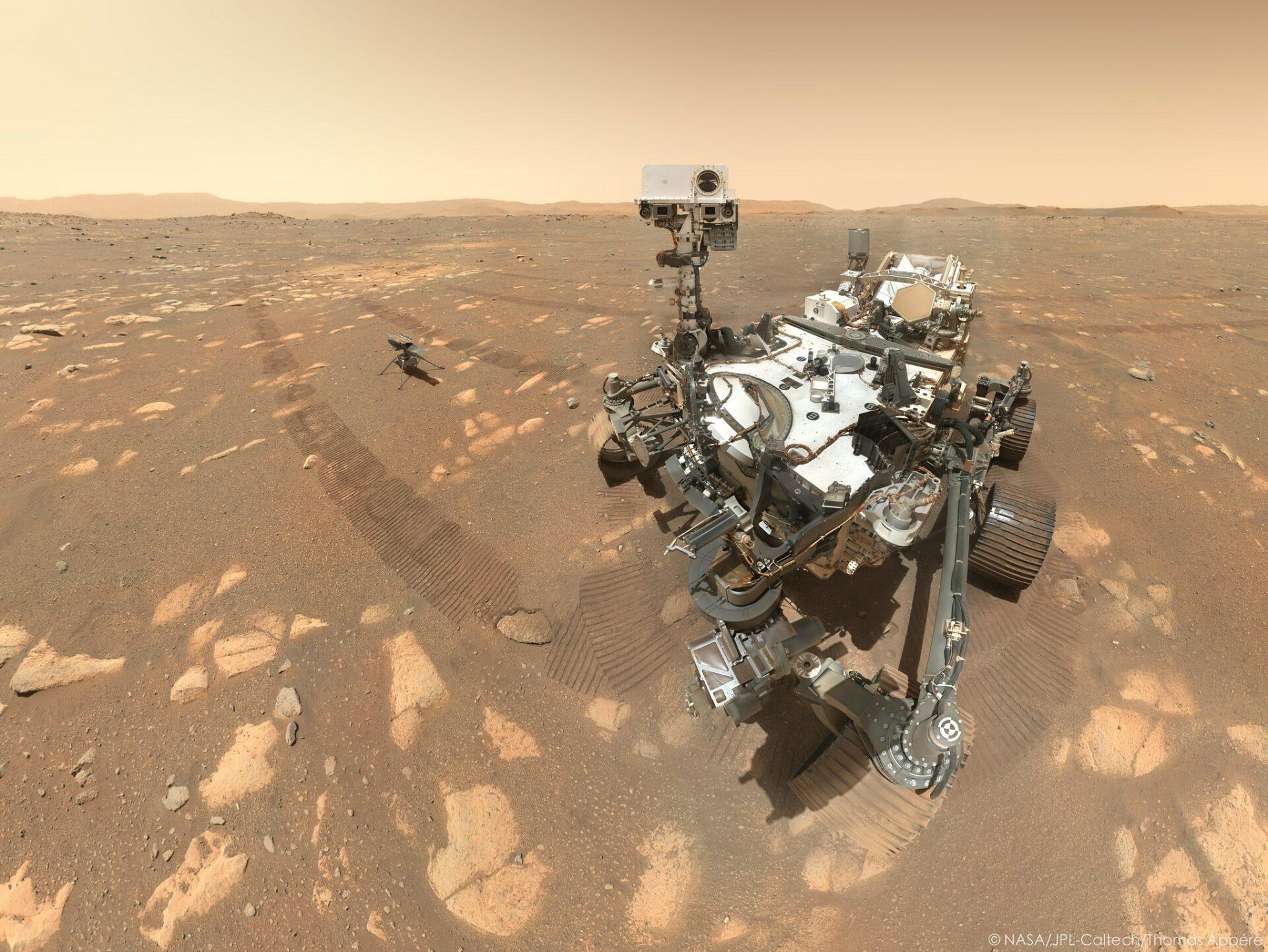 Perseverance выявил на Марсе следы древнего озера