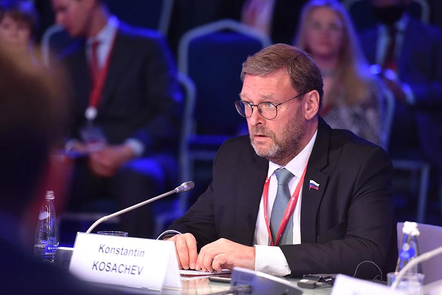 Сенатор Косачев отметил достижения республики на XXIV ПМЭФ