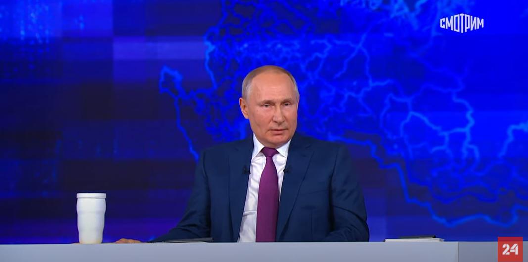 Путин: народ России - в высшей степени духовный