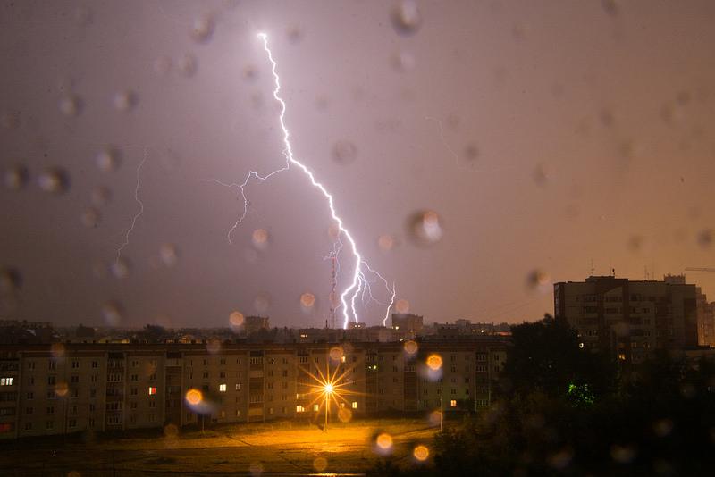 В пятницу на территории Марий Эл объявлено штормовое предупреждение