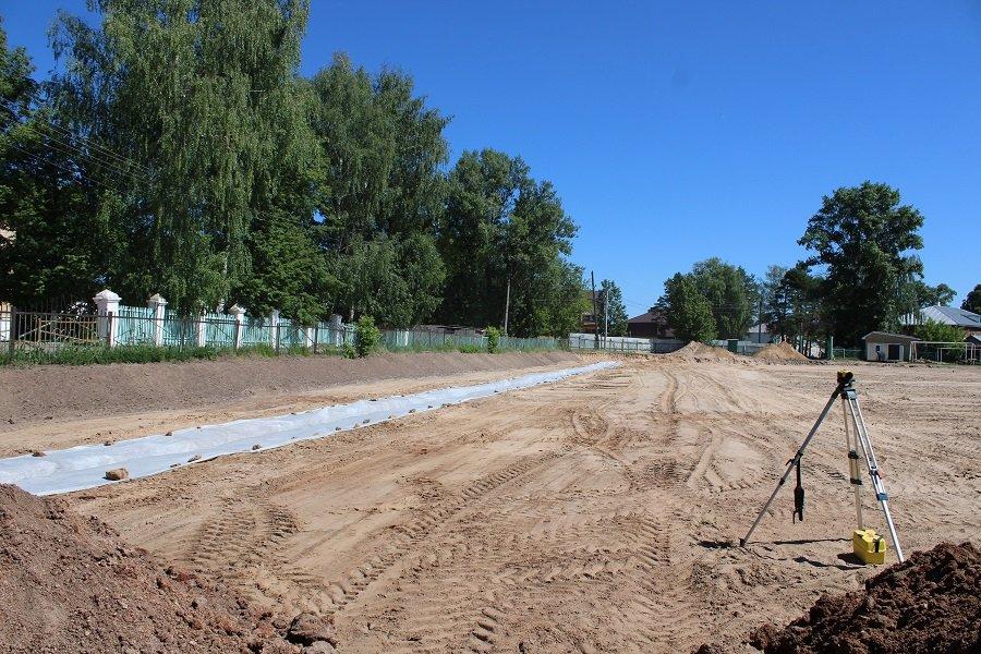 В поселке Красногорском вскоре появится новое футбольное поле