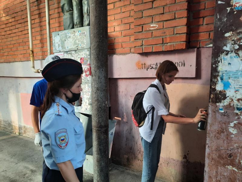В Йошкар-Оле уничтожили свыше 50 надписей с рекламой наркотиков